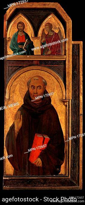 Saint Benedict. Artist: Segna di Buonaventura (Italian, active Siena by 1298-died 1326/31); Date: 1320s; Medium: Tempera on wood