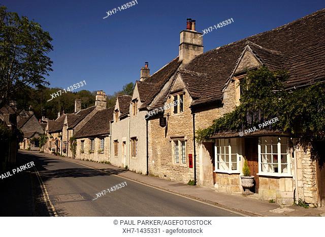 Castle Combe village, Wiltshire, England, UK