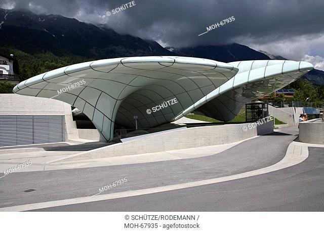 Österr Innsbruck Hungerburgbahn Station Hungerburg. Zaha Hadid 2007