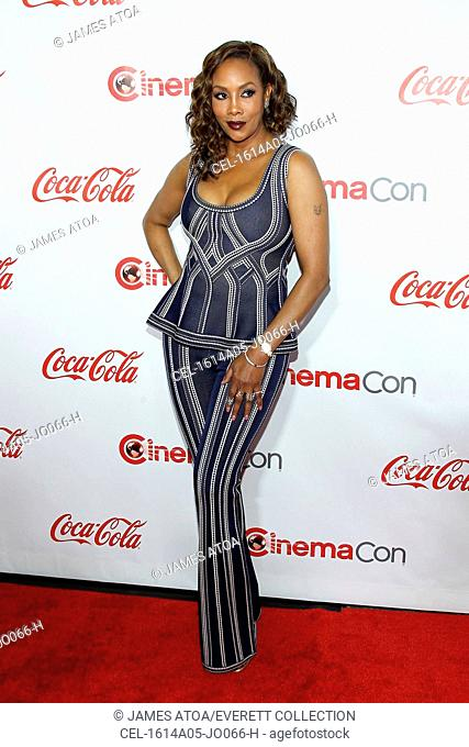Vivica A. Fox in attendance for CinemaCon 2016 Big Screen Achievement Awards - Part 2, The Colosseum at Caesars Palace, Las Vegas, NV April 14, 2016