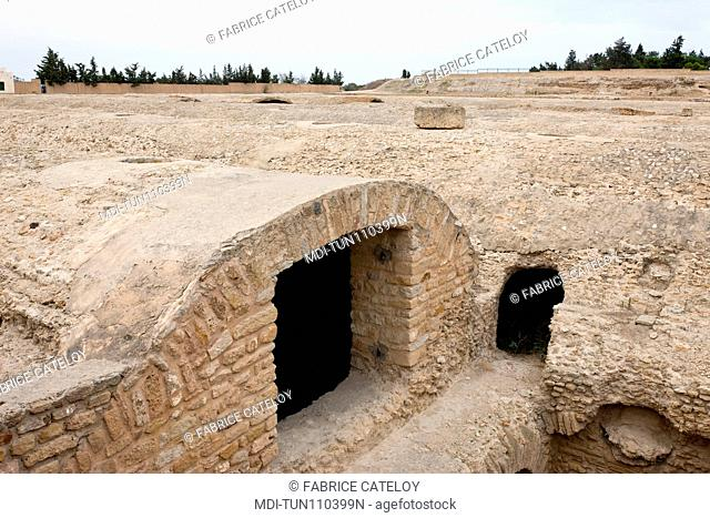 Tunisia - Carthage - Citerns of La Malga
