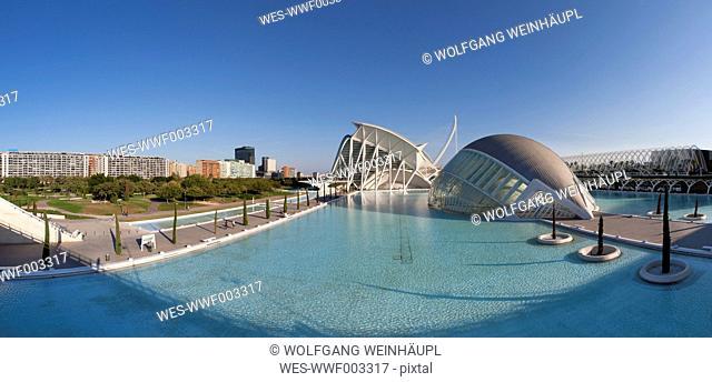 Spain, Valencia, City of Arts and Sciences
