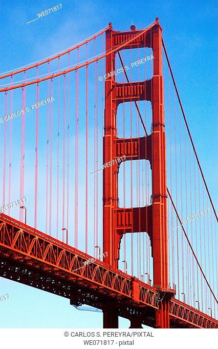 Golden Gate in San Francisco, California, USA