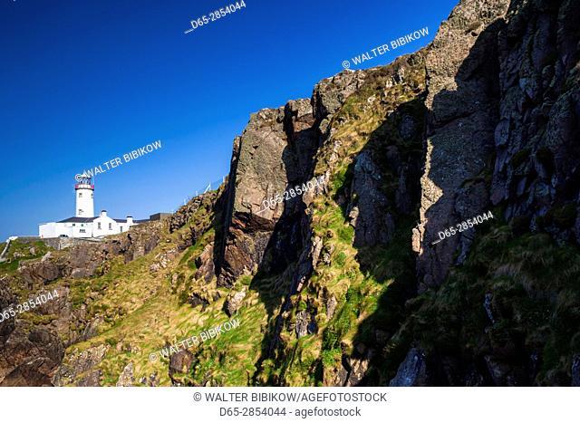 Ireland, County Donegal, Fanad Peninsula, Fanad Head Lighthouse