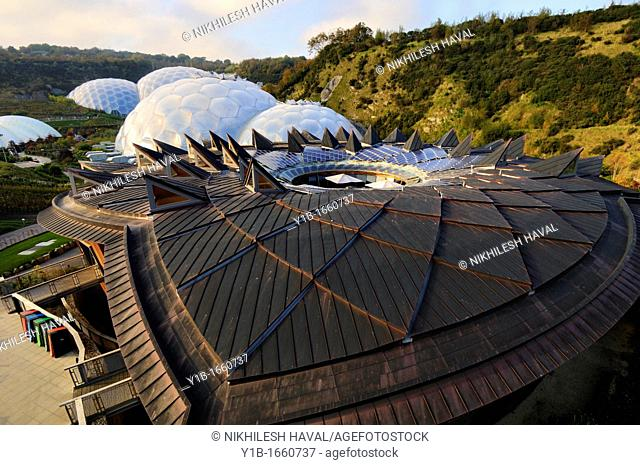 Core and Biomes Eden project