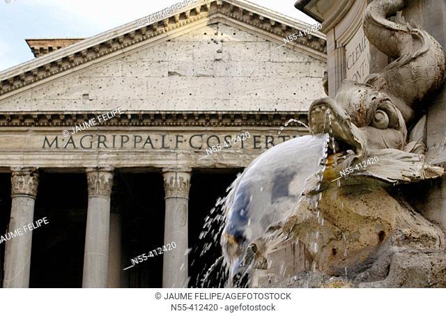 Panteón de Adriano. Rome. Italy