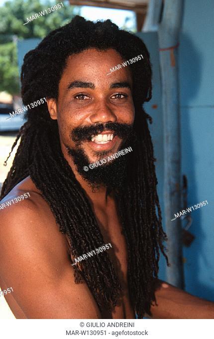 Jamaica Kumina Queen & Obeah Man In Trance, Stock Photo
