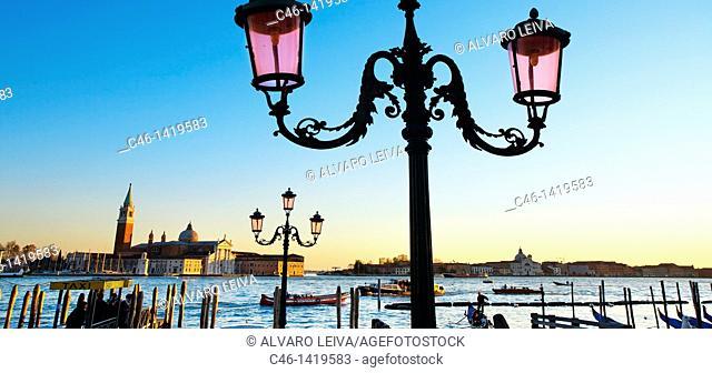 San Giorgio Maggiore church  Venice  Veneto, Italy