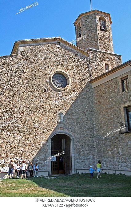 Santa Maria de Lord sanctuary. Solsones, Lleida province, Catalonia, Spain