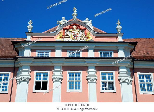 Germany, Baden-Wurttemberg, Lake of Constance, Meersburg, upper town, castle