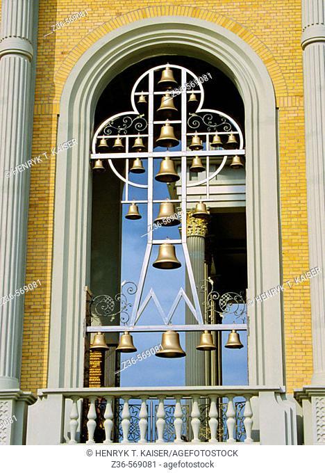 Bells in Lichen Sanctuary of  Poland