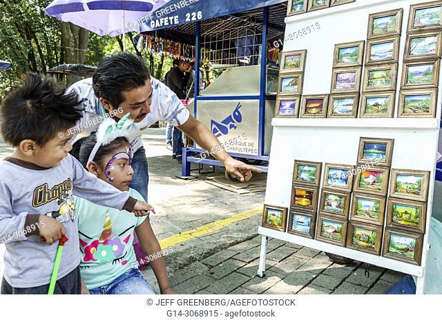 Mexico, Mexico City, Ciudad de, Federal District, Distrito, DF, D.F., CDMX, Polanco, Hispanic, Mexican, Bosque de Chapultepec forest park parque, vendor