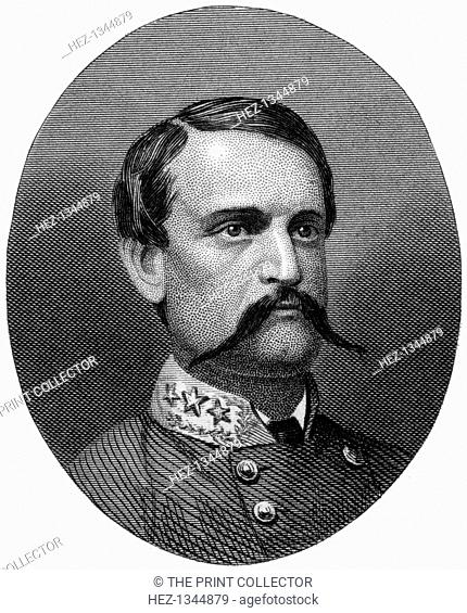 John Cabell Breckinridge, Confederate general, 1862-1867. Before the Civil War Breckinridge (1821-1875) served as the 14th Vice-President of the United States