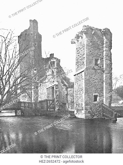'Brickwork at Caister Castle, Norfolk', 1903. Caister Castle is a 15th-century moated castle situated in the parish of West Caister