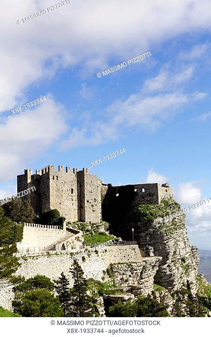 The Venus Castle at Erice, Sicily, Italy
