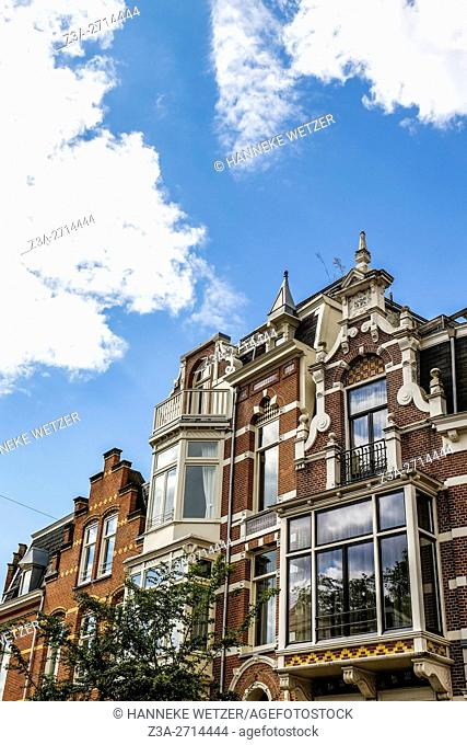 Traditional architecture in Amsterdam, the Netherlands, Europe