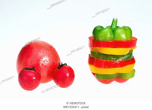 Tomatoes and Bell pepper