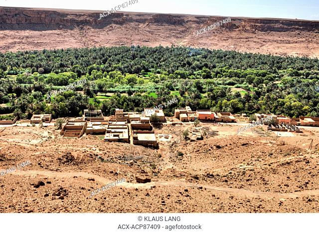 Berber Village, Middle Atlas Mountains, Morocco
