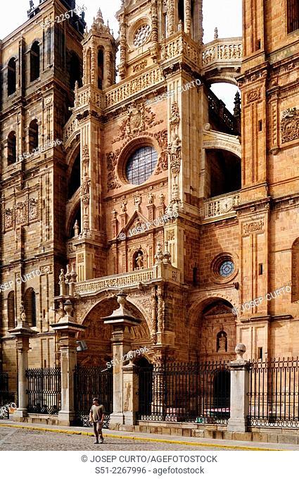 Catedral, Astorga, Leon, Spain