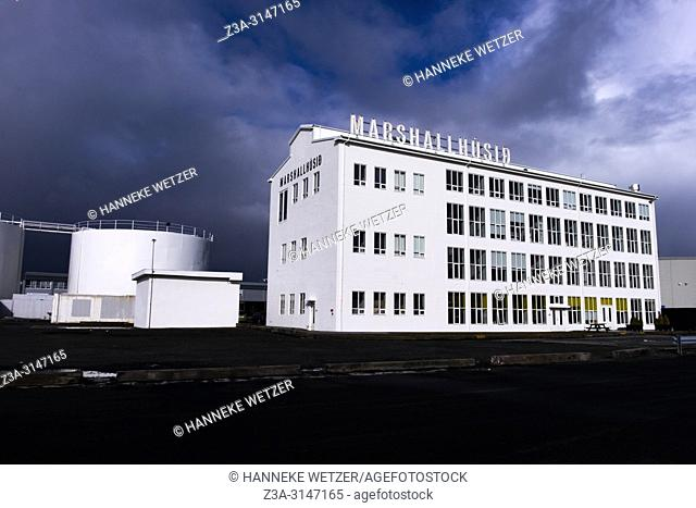 The Marshall House in Reykjavik, Iceland