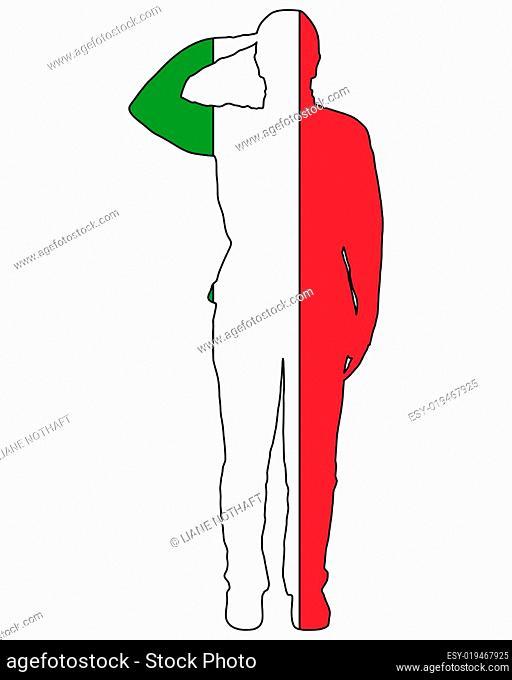 Italienischer Salut