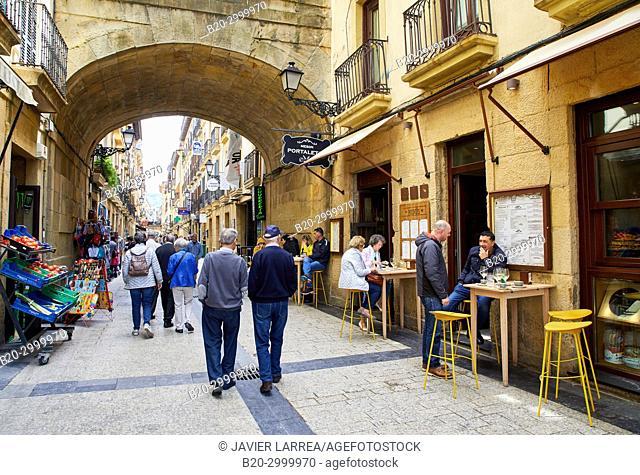 Bar Restaurante Portaletas, Parte Vieja, Old Town, Donostia, San Sebastian, Gipuzkoa, Basque Country, Spain