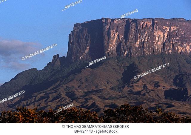 Roraima Tepuy, Table Mountain, Venezuela, South America