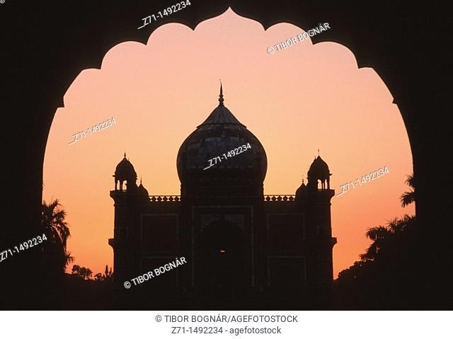 India, Delhi, Safdarjang's Tomb