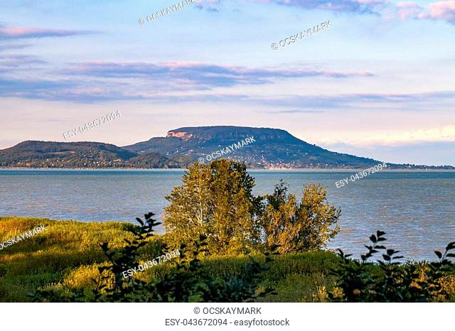 Beautiful picture of the hungarian lake Balaton