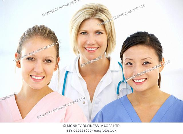 Portrait Of Female Medical Team