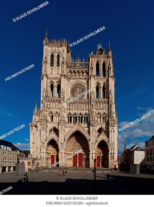 Cathedral Basilica of Our Lady of Amiens, Amiens, Departement Somme, Picardie region, France / Kathedrale Notre Dame d'Amiens, Amiens, Departement Somme
