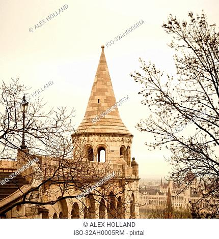 Fishermen?s Bastion with trees