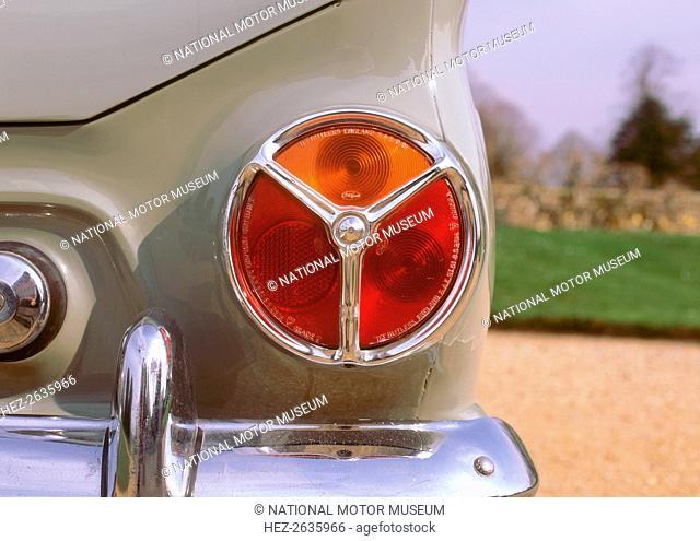 1962 Ford Consul Cortina rear light cluster. Artist: Unknown