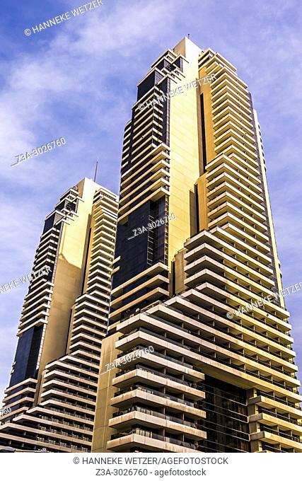 Skyscraper at Dubai Marina, Dubai, UAE