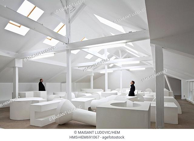 Germany, Berlin, Mitte, Auguststrasse, KW Institute for Contemporary Art, an exhibition space dedicated to contemporary art