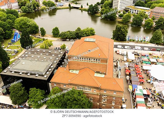 Kiel, Germany - June 24, 2018: Impressionen from the 9th and last day of the Kieler Woche 2018