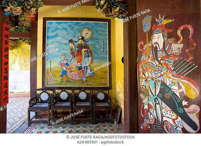 Vietnam -Nov 2009 Hoian City W H  Assembly Hall of Hainan Chinese