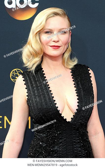 68th Annual Primetime Emmy Awards at the Microsoft Theatre Featuring: Kirsten Dunst Where: Los Angeles, California, United States When: 18 Sep 2016 Credit:...