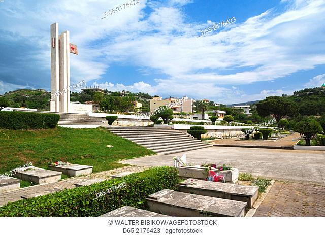 Albania, Vlora, Martyrs' Cemetery