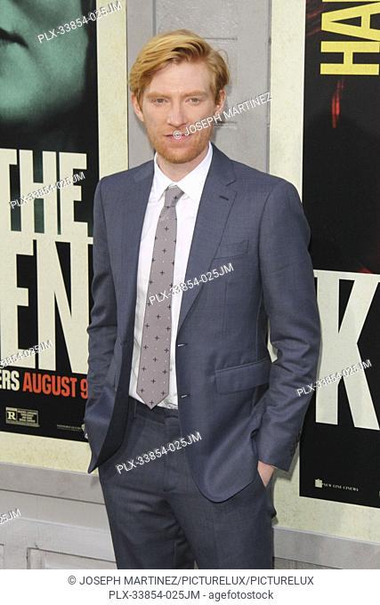"Domhnall Gleeson at Warner Bros. Pictures' """"The Kitchen"""" Premiere held at the TCL Chinese Theatre, Los Angeles, CA, August 5, 2019"