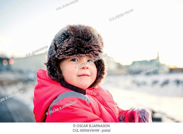 1ed7aef6f Wearing trapper hat Stock Photos and Images | age fotostock