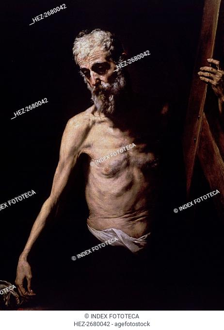 Saint Andrew, by José de Ribera, now in the Prado Museum