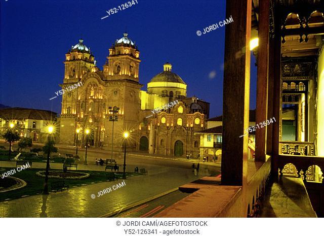 Iglesia de la Compañía. Plaza de Armas. Cusco. Peru