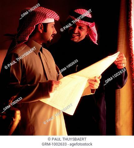 Meeting of Arab businessmen