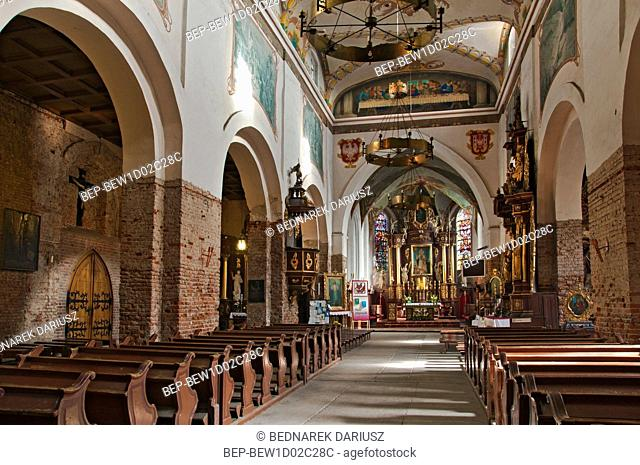 Church of St. Nicholas. Inowroclaw, Kuyavian-Pomeranian Voivodeship, Poland