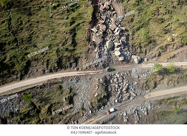 Aftershocks and landslides killed even more people and destroyed more roads On 8 october 2005, a severe earthquake hit Northern Pakistan Pakistan controlled...