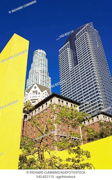 Pershing Square, Downtown Los Angeles, California, USA
