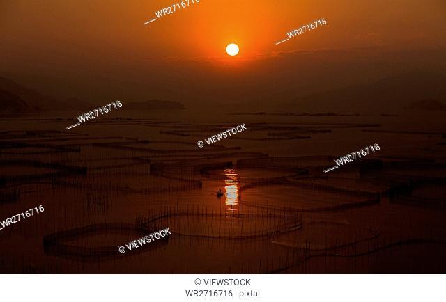The scenery of Bachimen in Xiapu County,Fujian Province,China