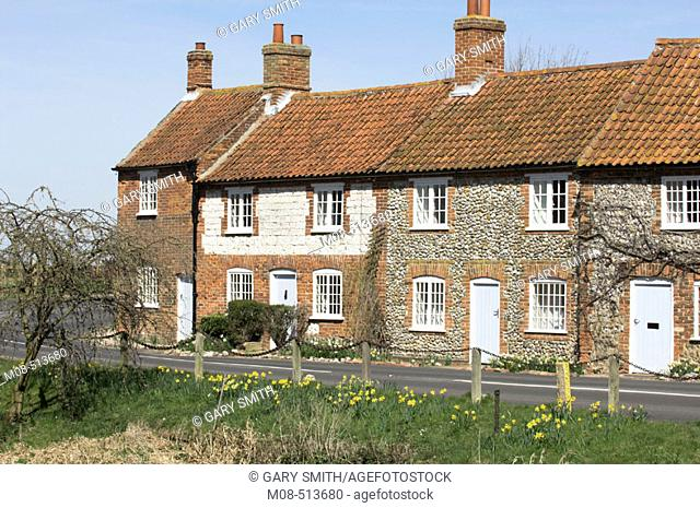 Cottages in North Norfolk, UK