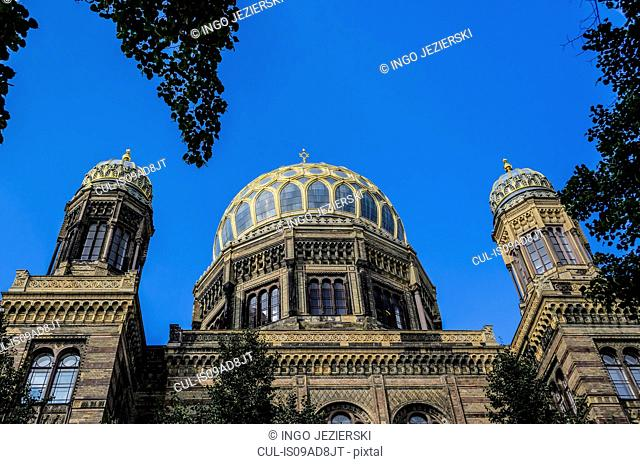 New Synagogue (built in 1859-1866), Berlin, Germany